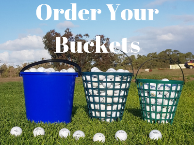 Order your buckets of balls at Rockingham Golf Driving Range